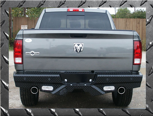 Frontier Gear Diamond Back Bumpers - Dodge
