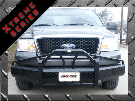 Bumpers - Frontier Gear Xtreme Front Bumper Replacements