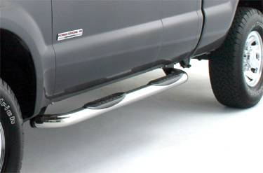 3 Inch Cab Length Nerf Bars - Ford