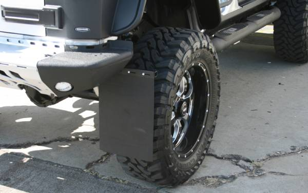 Frame Mount Mud Flaps - Aries Offroad Universal Removable Mud Flaps
