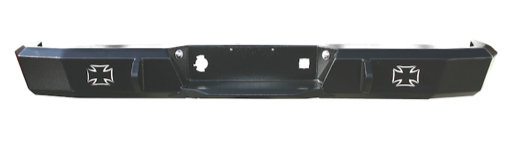 Iron Cross Base Rear Bumper - Dodge