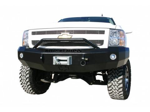 Bumpers - Iron Cross Front Bumper with Push Bar