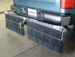 "Towtector Chrome with Double Brush Strips - 78"" Towtector for Full Size Trucks"