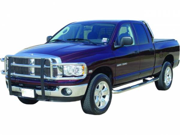 Wheel to Wheel Nerf bars in Stainless Steel - Dodge