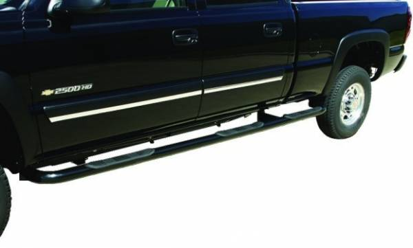 Wheel to Wheel Nerf Bars in Black - Ford