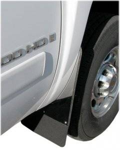 Luverne Rubber Mud Flaps with Stainless Steel - Chevy/GMC