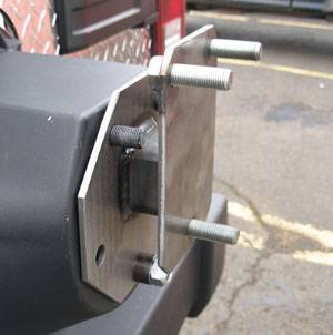Tailgates and Tire Carriers - Warrior Tailgate Tire Spacer