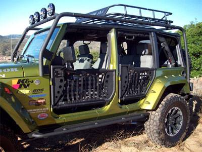 Jeep Doors - Body Armor Trail Doors