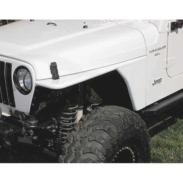 Fender Flares - Rugged Ridge Flat Fenders