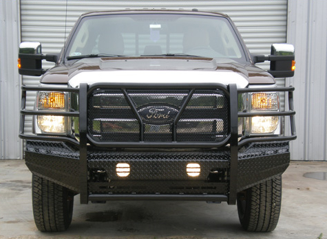 Frontier Truck Gear - Front Bumper Replacement