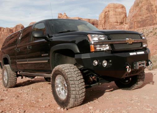 Truck Bumpers - Road Armor Stealth - Chevy Silverado ...