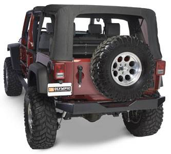 Olympic 4x4 - Rock Rear Bumper