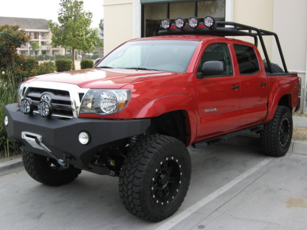 Body Armor - Body Armor Bumpers for Toyota Tacoma