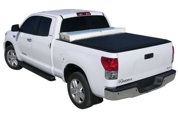 Access 65249 Access Toolbox Tonneau Cover Toyota Tundra 6 5 Bed With Deck Rail 2007 2013