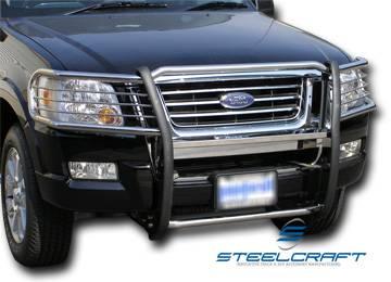 steelcraft 51140 black grille guard ford explorer 4 door. Black Bedroom Furniture Sets. Home Design Ideas