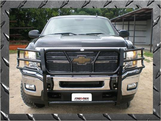 Chevy Avalanche Brush Guard ... -20-7003 Grille Guard Chevy Tahoe/Avalanche/Suburban 1500 (2007-2013