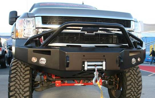 Front Winch Bumper with Pre-Runner Bar - Chevy