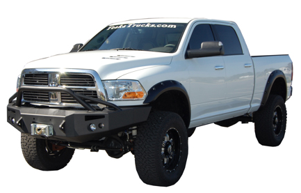 Front Winch Bumper with Pre-Runner Bar - Dodge