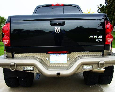 Deluxe Rear Dually Bumper - Dodge