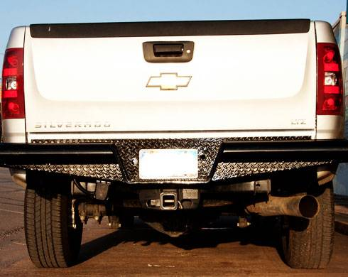 Traditional Rear Bumper - GMC