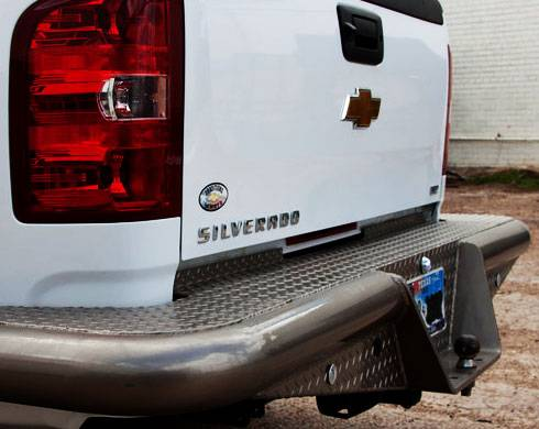 Traditional Rear Dually Bumper - GMC