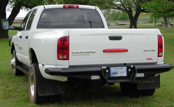 Traditional Rear Dually Bumper - Dodge