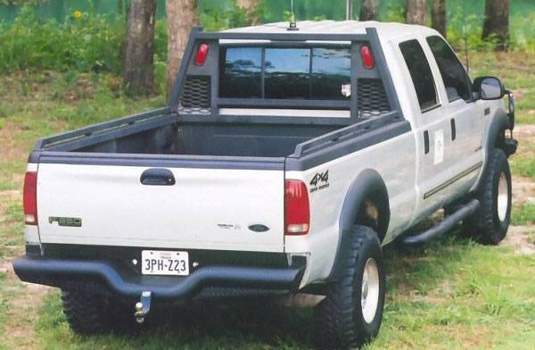 Deluxe Rear Bumper - Ford