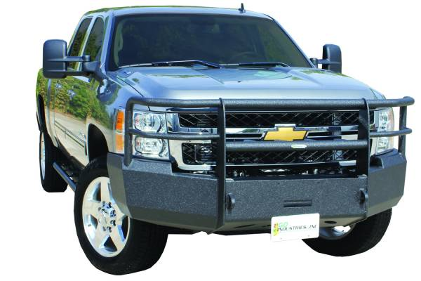 GO Industries Ultimate Armor Bumpers - Chevy Silverado 2500HD/3500