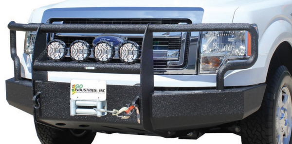 GO Industries Ultimate Armor Bumpers - Ford F150