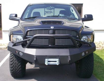 BETTER AUTOMOTIVE 2002-2005 Dodge RAM 1500//2003-2009 Dodge RAM 2500//3500 MEGA CAB 3 Bull BAR Stainless Steel Bumper Brush Guard