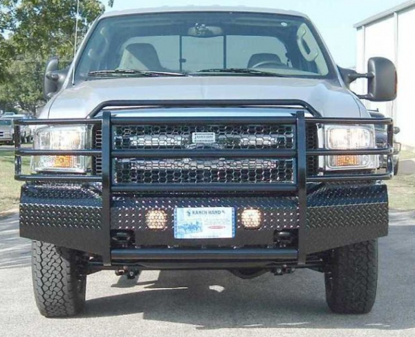 ranch hand ford f250 f350 bumper 2005 bumpers 2007 bumpersuperstore truck summit