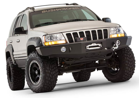 F on 1999 Jeep Grand Cherokee Laredo Front Bumper