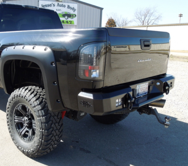 Boondock Bumpers - Rear Bumpers