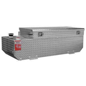 "Aluminum Tank Industries - ATI TTR65CB 65 Gallon Refueling Tank and Toolbox Combo 19"" x 60"" x 21"""