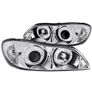 Anzo USA - Anzo USA 121078 Projector Headlight Set w/Halo