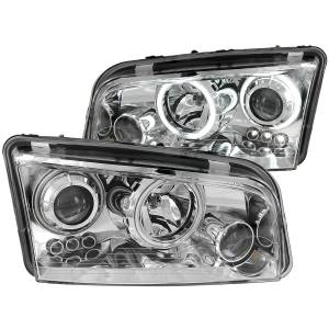 Anzo USA - Anzo USA 121217 Projector Headlight Set w/Halo