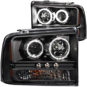 Anzo USA - Anzo USA 111117 Projector Headlight Set w/Halo
