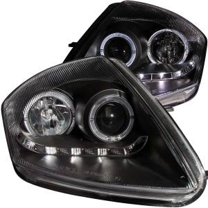 Anzo USA - Anzo USA 121419 Projector Headlight Set w/Halo