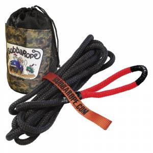 "Bubba Rope - Bubba Rope 176650RDG Lil Bubba Rope 7450Lb Breaking Strength with Special Order Red Eye 1/2"" x 20'"