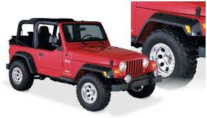 Bushwacker - Bushwacker 10917-07 Pocket Style Fender Flares