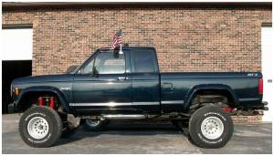 Bushwacker - Bushwacker 21008-11 Cut-Out Fender Flares