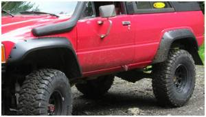 Bushwacker - Bushwacker 31022-11 Cut-Out Fender Flares