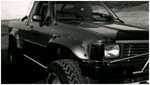 Bushwacker - Bushwacker 31009-11 Cut-Out Fender Flares