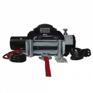 ENGO Winch - ENGO 77-12000PF EPF12000 12K Premium Finish Winch