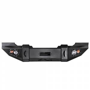 Fab Fours - Fab Fours JK07-B1851-1 Lifestyle Winch Front Bumper Jeep Wrangler JK 2007-2015