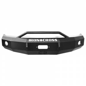 Iron Cross - Iron Cross 22-415-09 Winch Front Bumper with Push Bar Ford F150 2009-2014