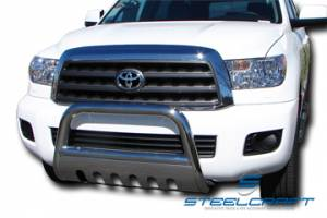 "Steelcraft - Steelcraft 73310 3"" Bull Bar for (2008 - 2011) Toyota Sequoia in Stainless Steel"