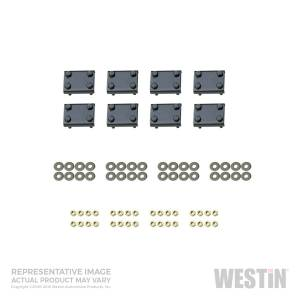 Westin - Westin 22-1135 Oval Tube Step Bar Mount Kit