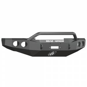 Road Armor - Road Armor 60804B Front Stealth Winch Bumper Pre-Runner Bar Ford Super Duty 2008-2010