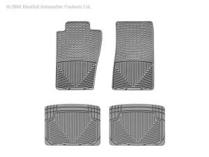 WeatherTech - WeatherTech W11GR-W20GR All Weather Floor Mats